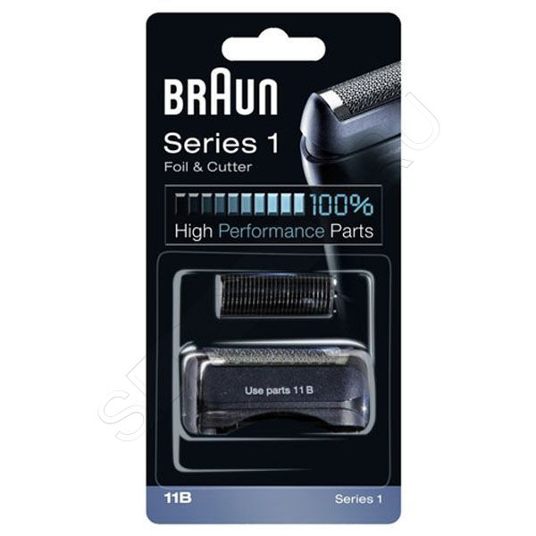 Сетка и режущий блок 11B для электробритв Braun Series 1, артикул: 81387933